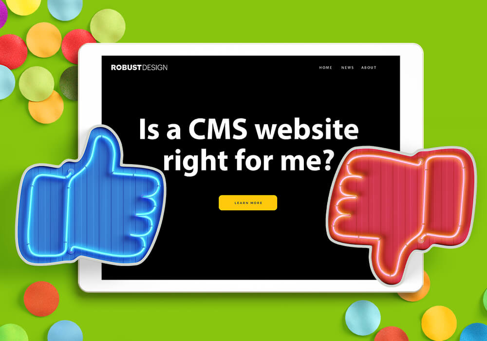 Should you use a CMS website?