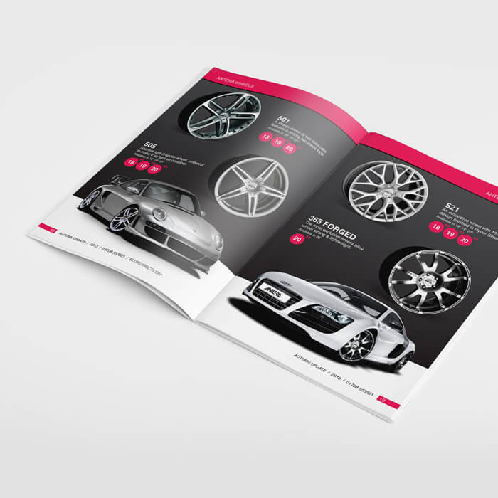 Elite Brochure design